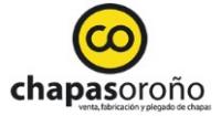 Logo Chapas Orono